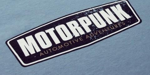 Motorpunk chest blue
