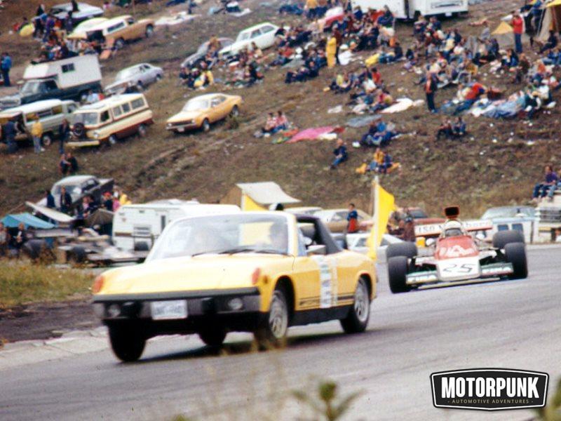 porsche 914 safety car