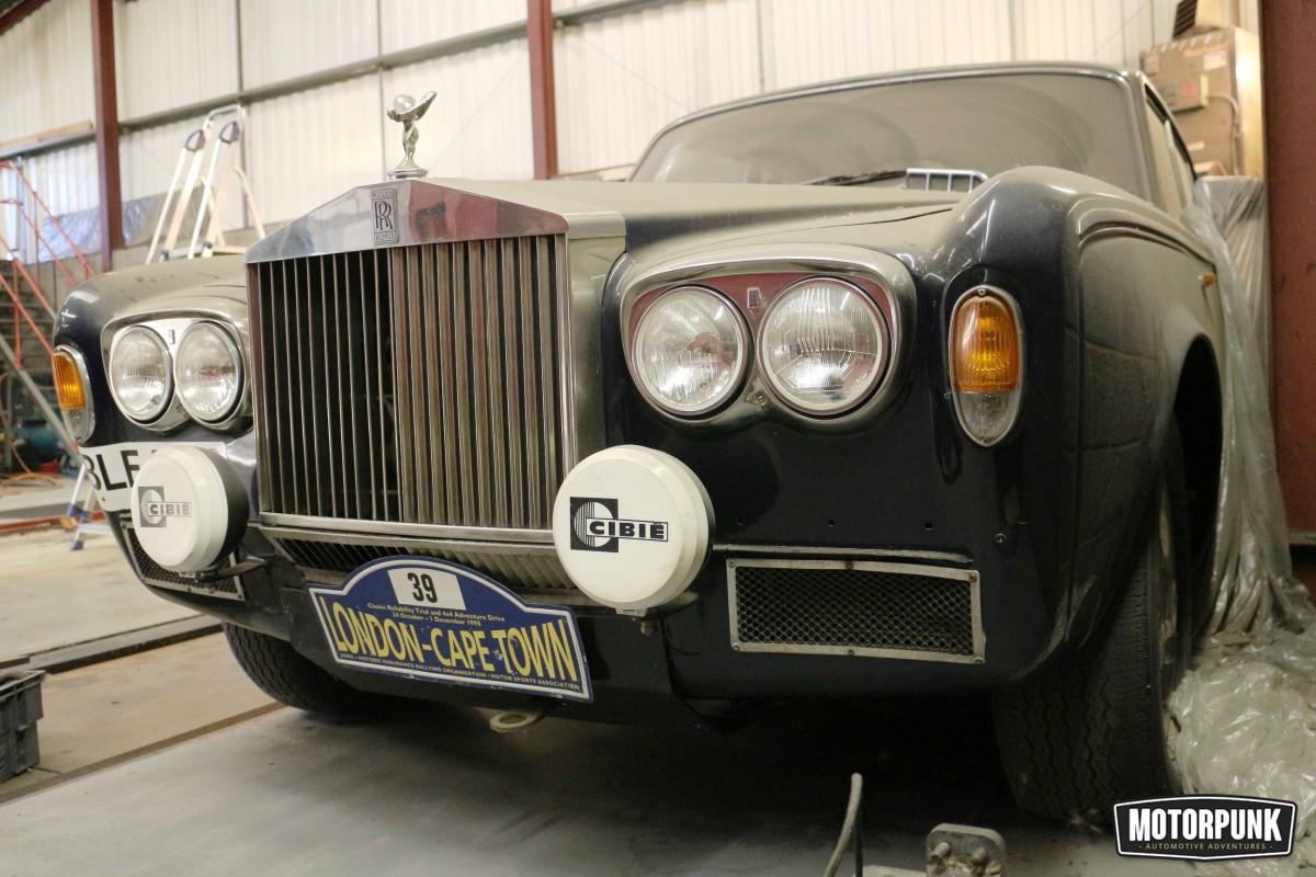 Rolls-Royce rally car barn find • MotorPunk
