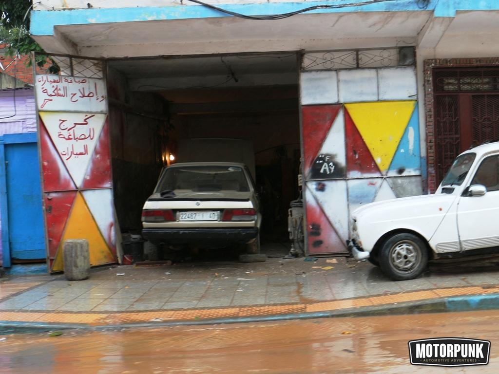 garage in morocco