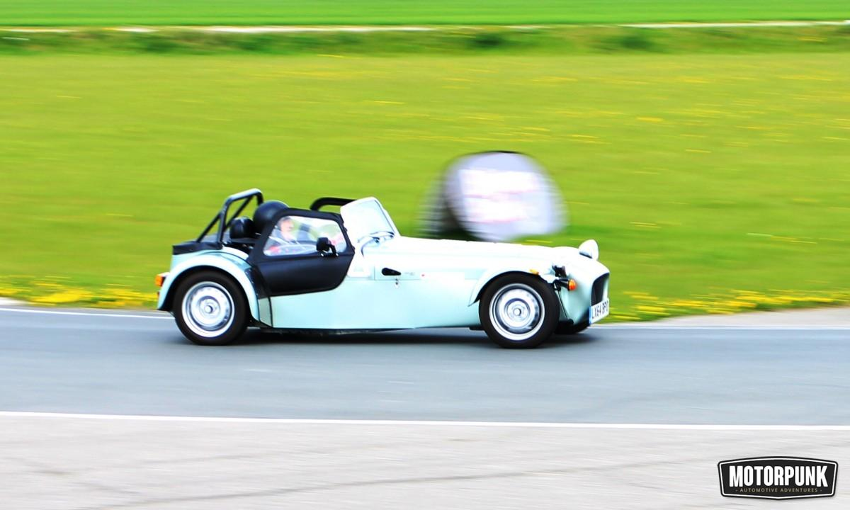 caterham 160 on track trackday