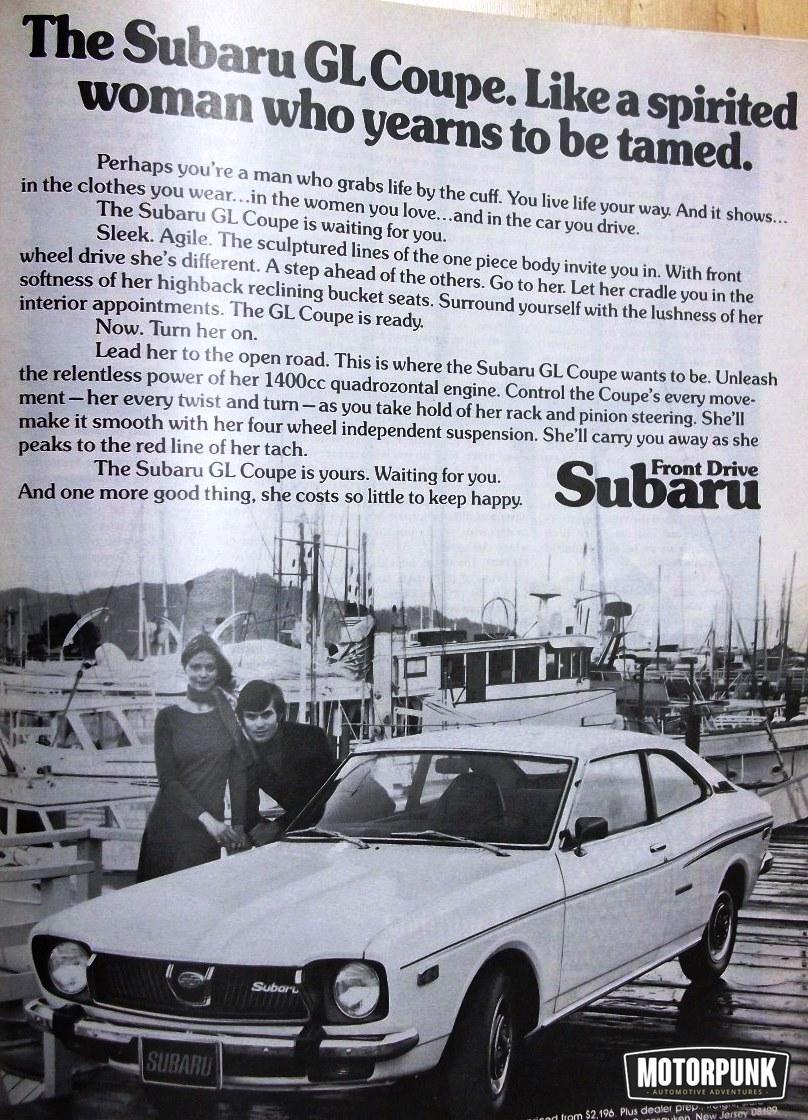 sexist car advert