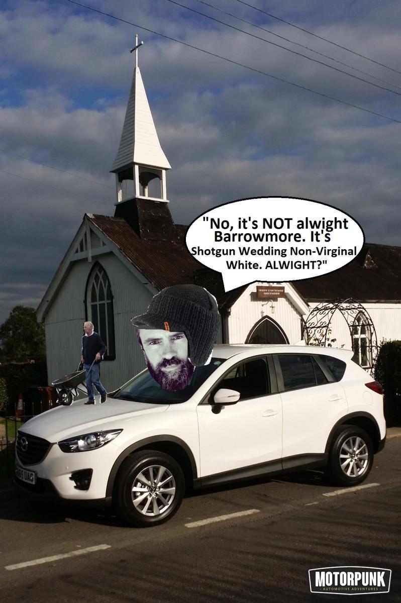 mazda ride and drive Barrowmore