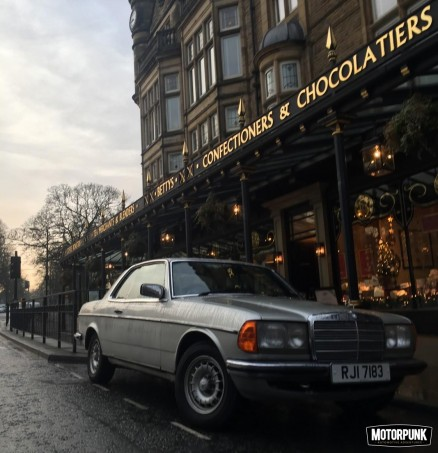 Merc W123 Coupe: reputable cars for doing disreputable