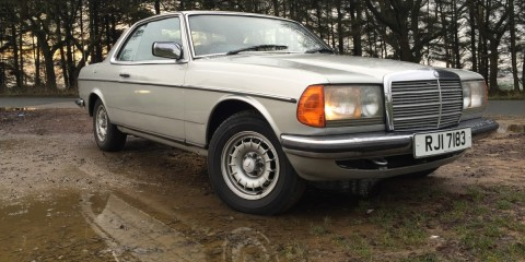 mercedes w123 ce280 review title pic