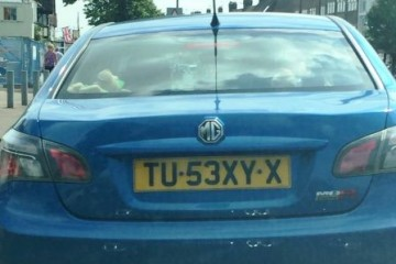 messages novelty registration plate nonsense (17)