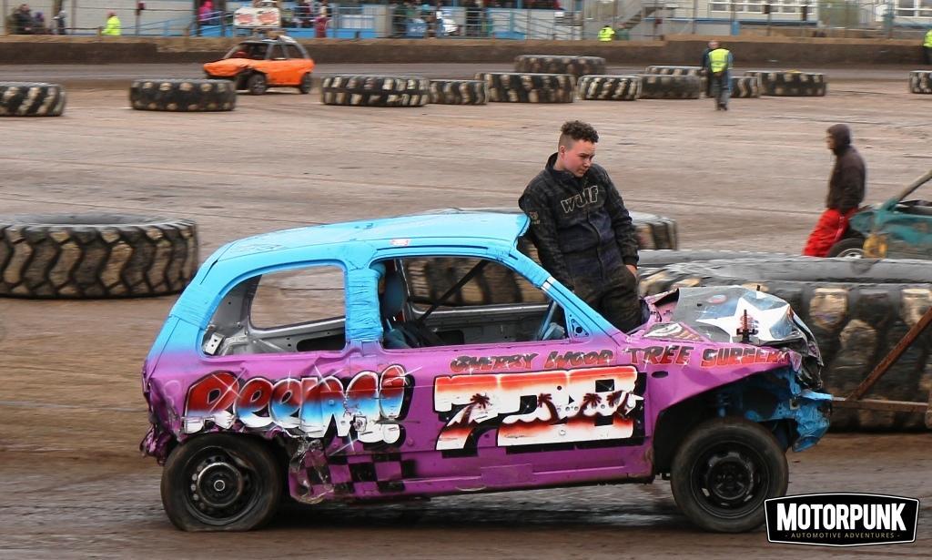 ministocks banger racing at adrian flux arena Kings Lynn (48)
