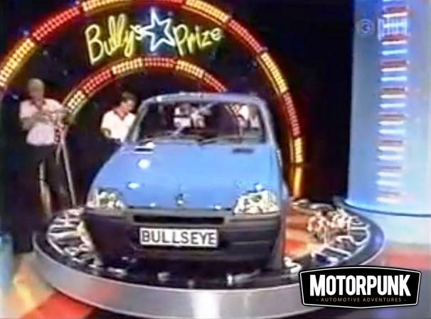 Better Than Bfh The Cars Of Bullseye S Star Prize Gamble