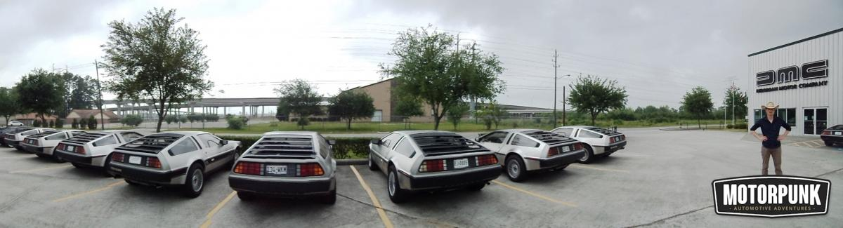 a visit to delorean