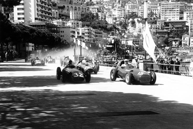 Moss Vanwall Monaco