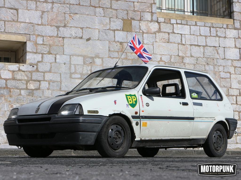 rally spec metro (= standard metro + stickers)