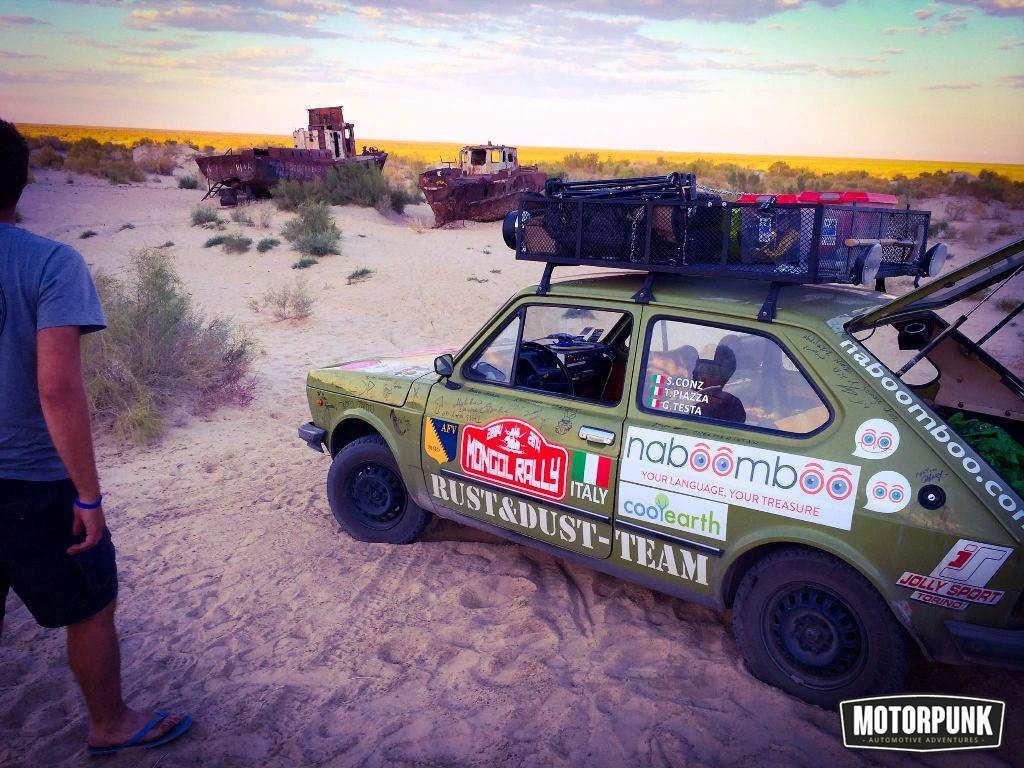 The best of the Mongol rally - MotorPunk and the Adventurists (8)