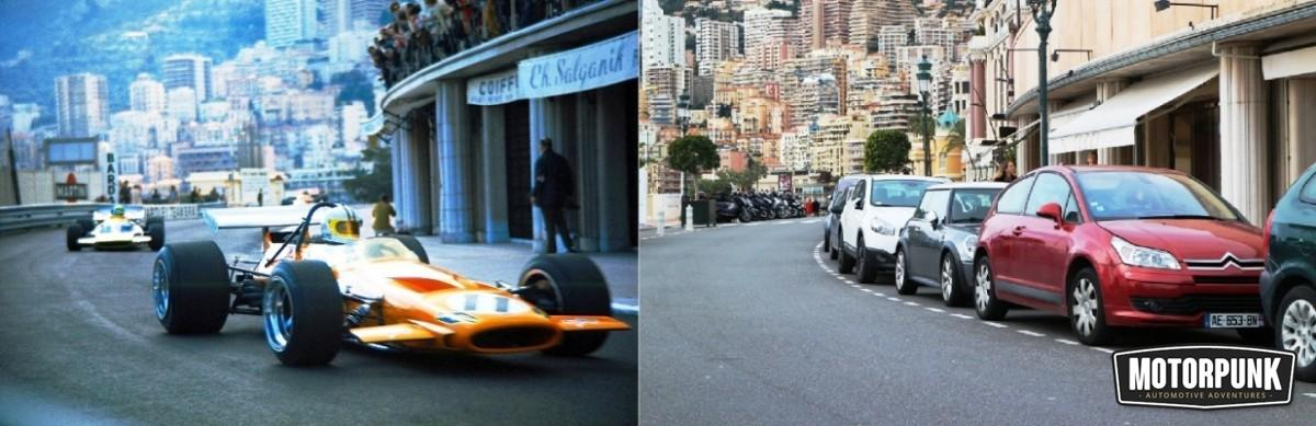 denny hulme mclaren then and now