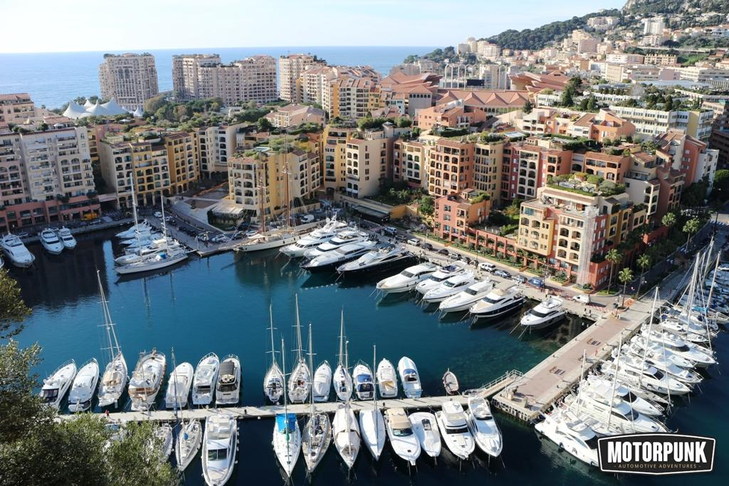 fontvielle harbour - spot the 'Alpine GTA'