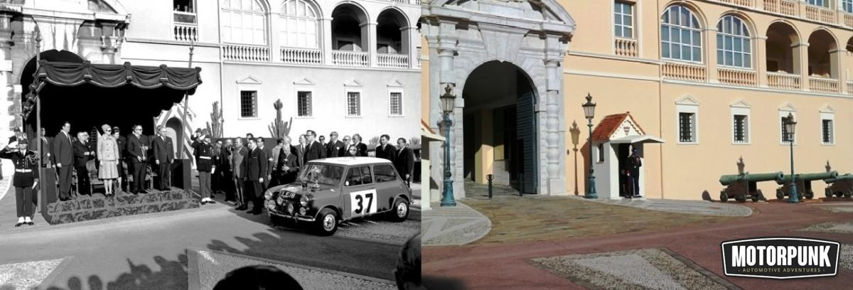 paddy hopkirk at the palace then and now