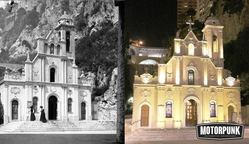 sante devote chapel then and now