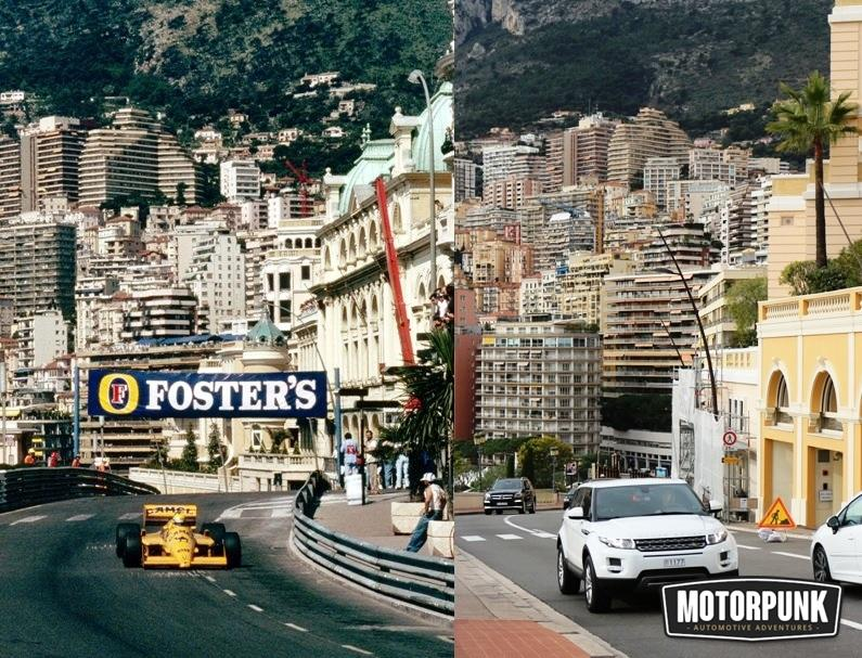 senna 1987 then and now