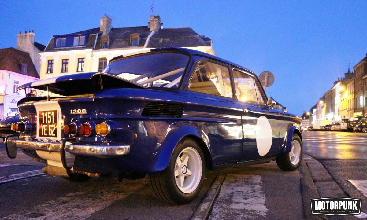 NSU retro rallycar