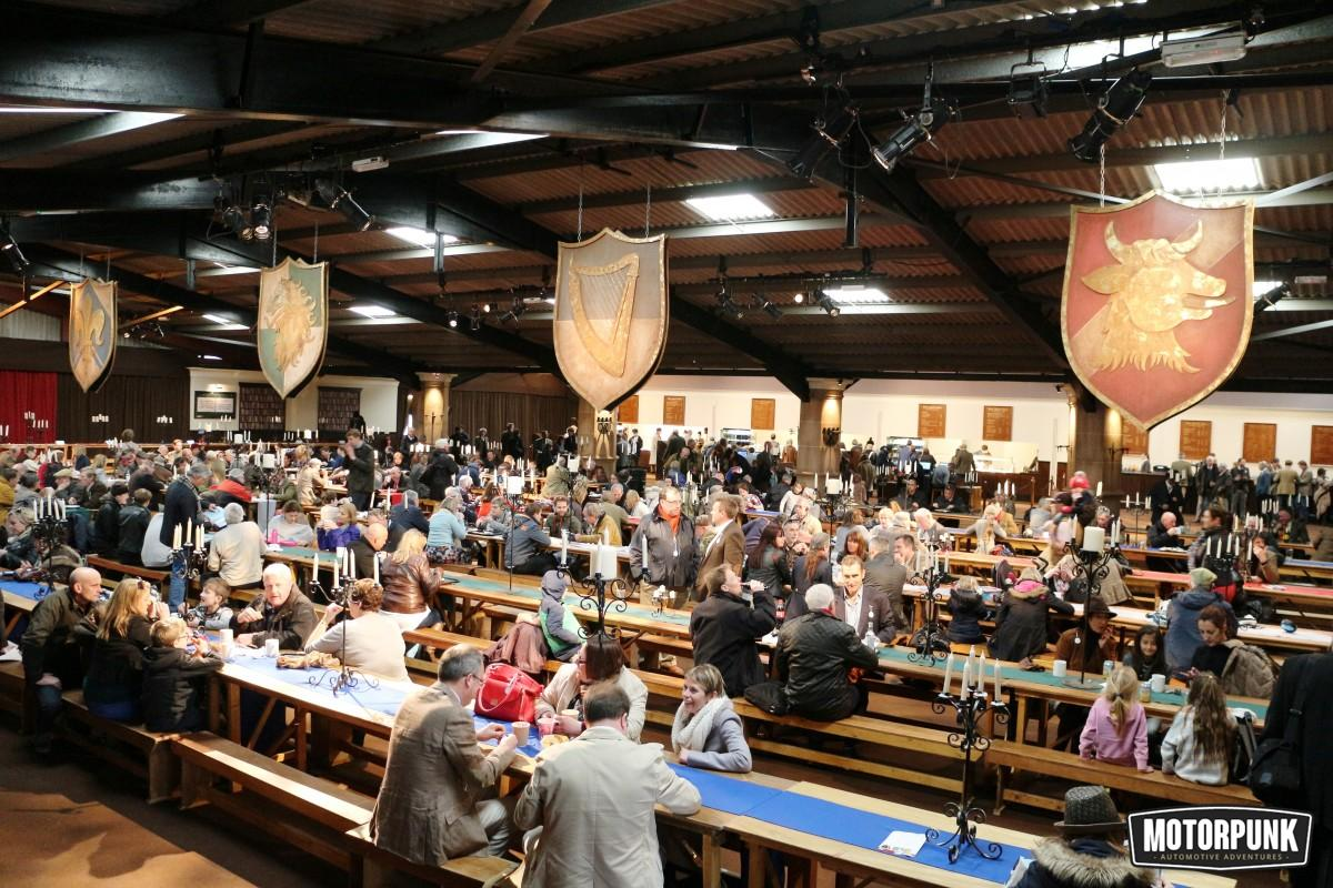 dining hall at goodwood members meeting