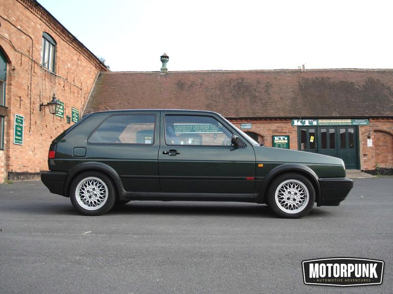 Oak Green Mk2 Golf GTI