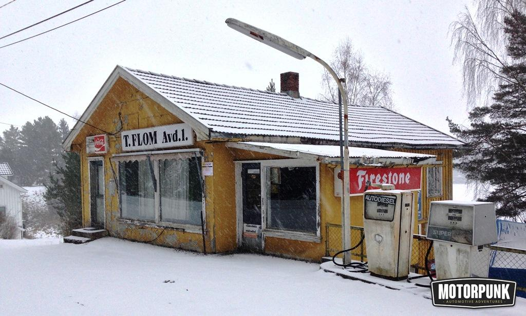 ABANDONED PETROL STATION