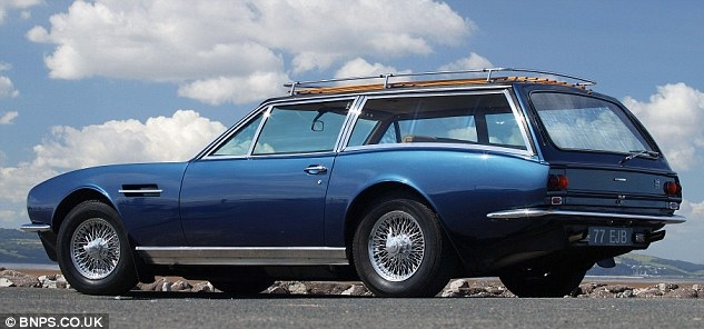 MOTORPUNK - ASTON MARTIN DBS SHOOTING BRAKE