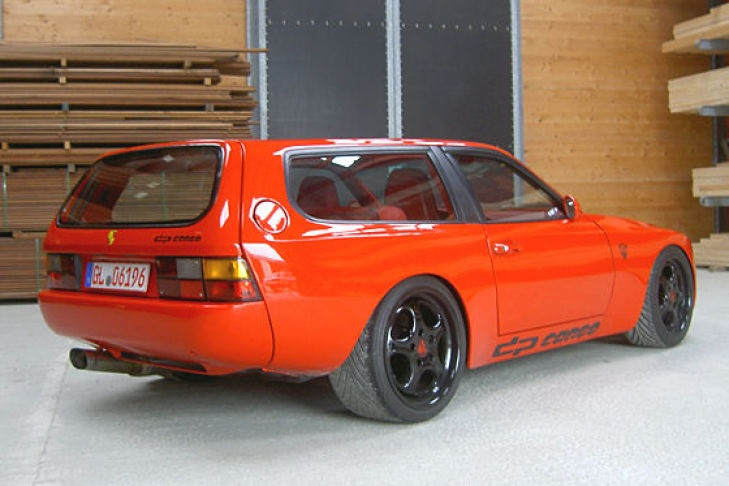 MOTORPUNK - PORSCHE DP44 SHOOTING BRAKE