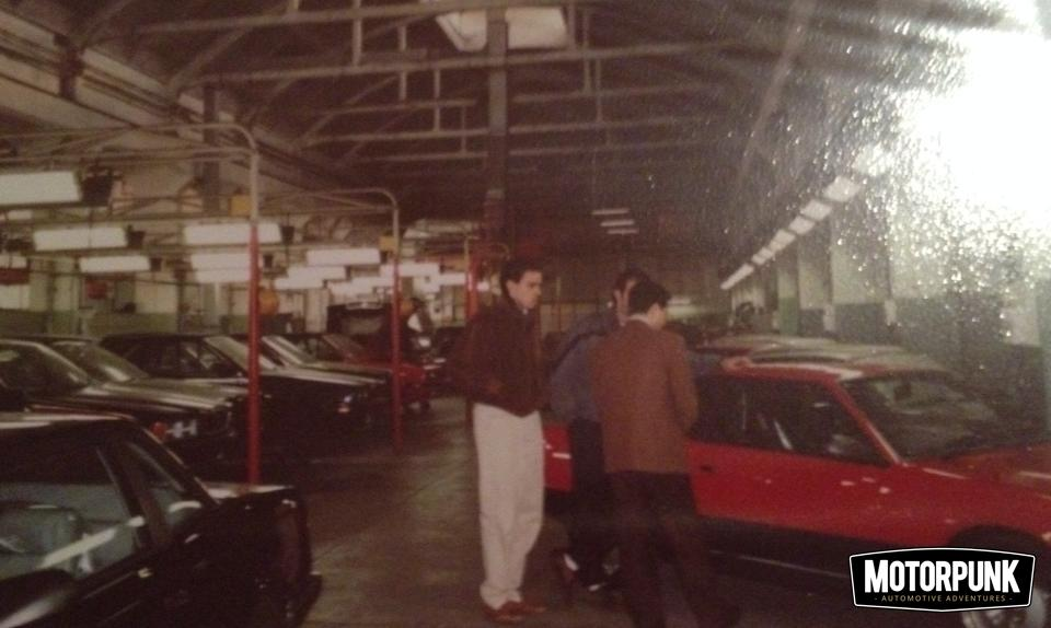 maserati biturbo production in factory modena